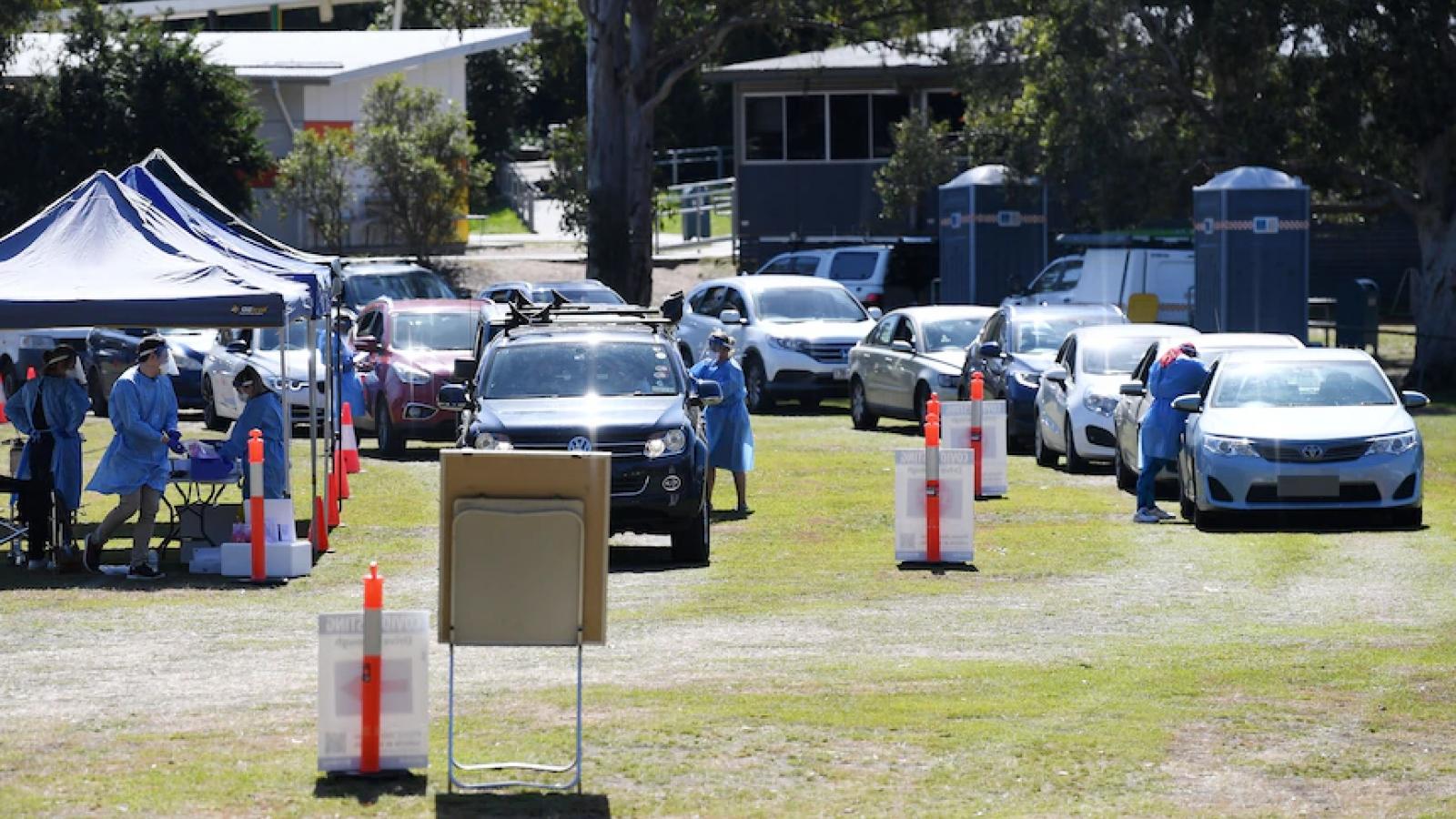 Australia phong tỏa một số khu vực thuộc bang Queensland để ngăn biến thể Delta lây lan