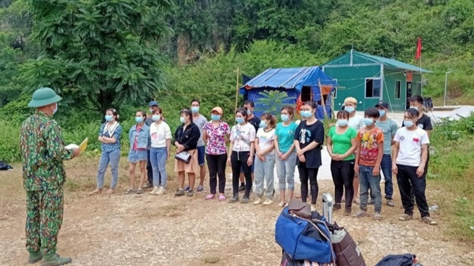 Cao Bằng: Ngăn chặn 54 công dân nhập cảnh trái phép từ Trung Quốc về Việt Nam