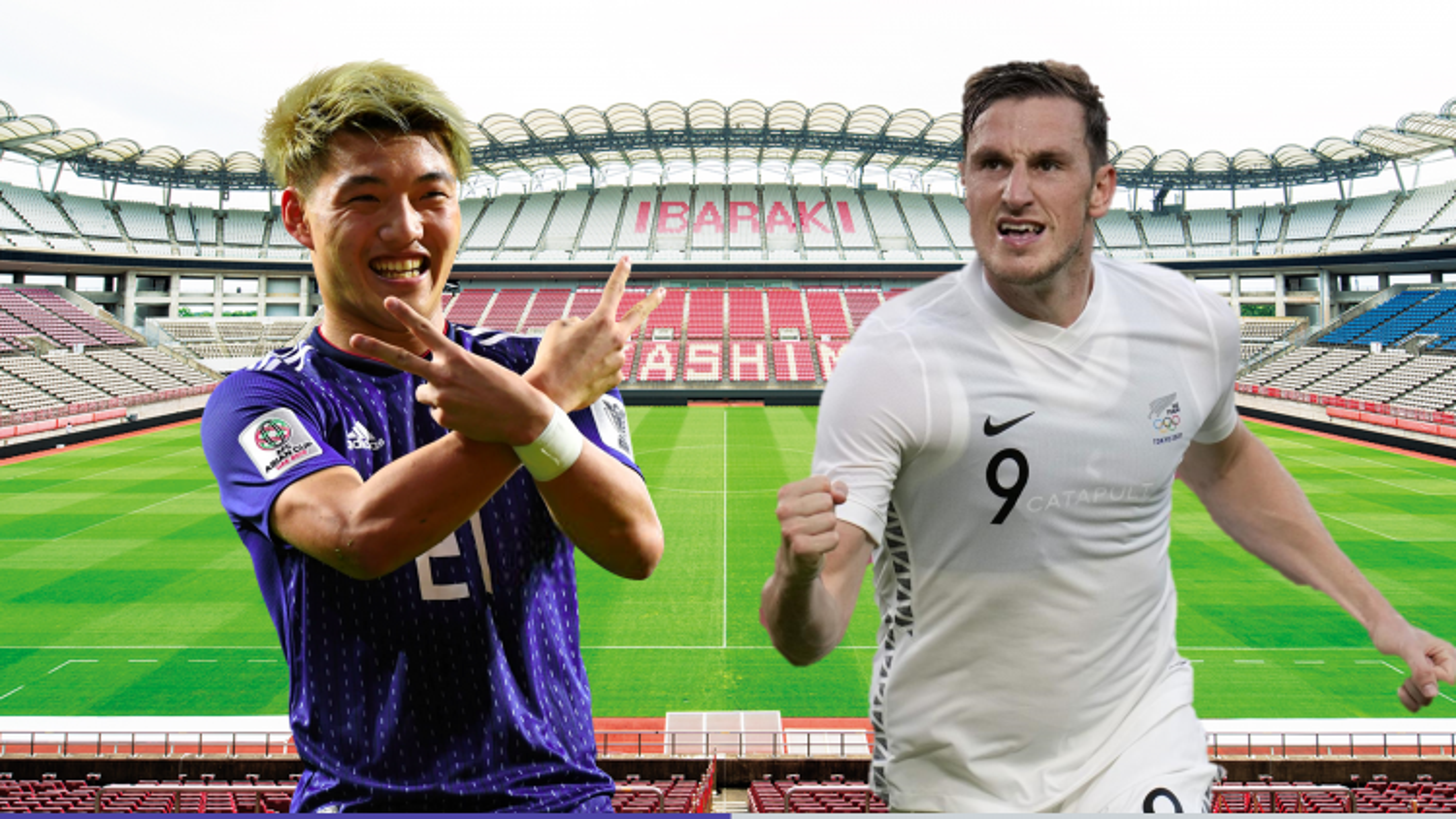 Dự đoán tỷ số, đội hình xuất phát trận Nhật Bản - New Zealand