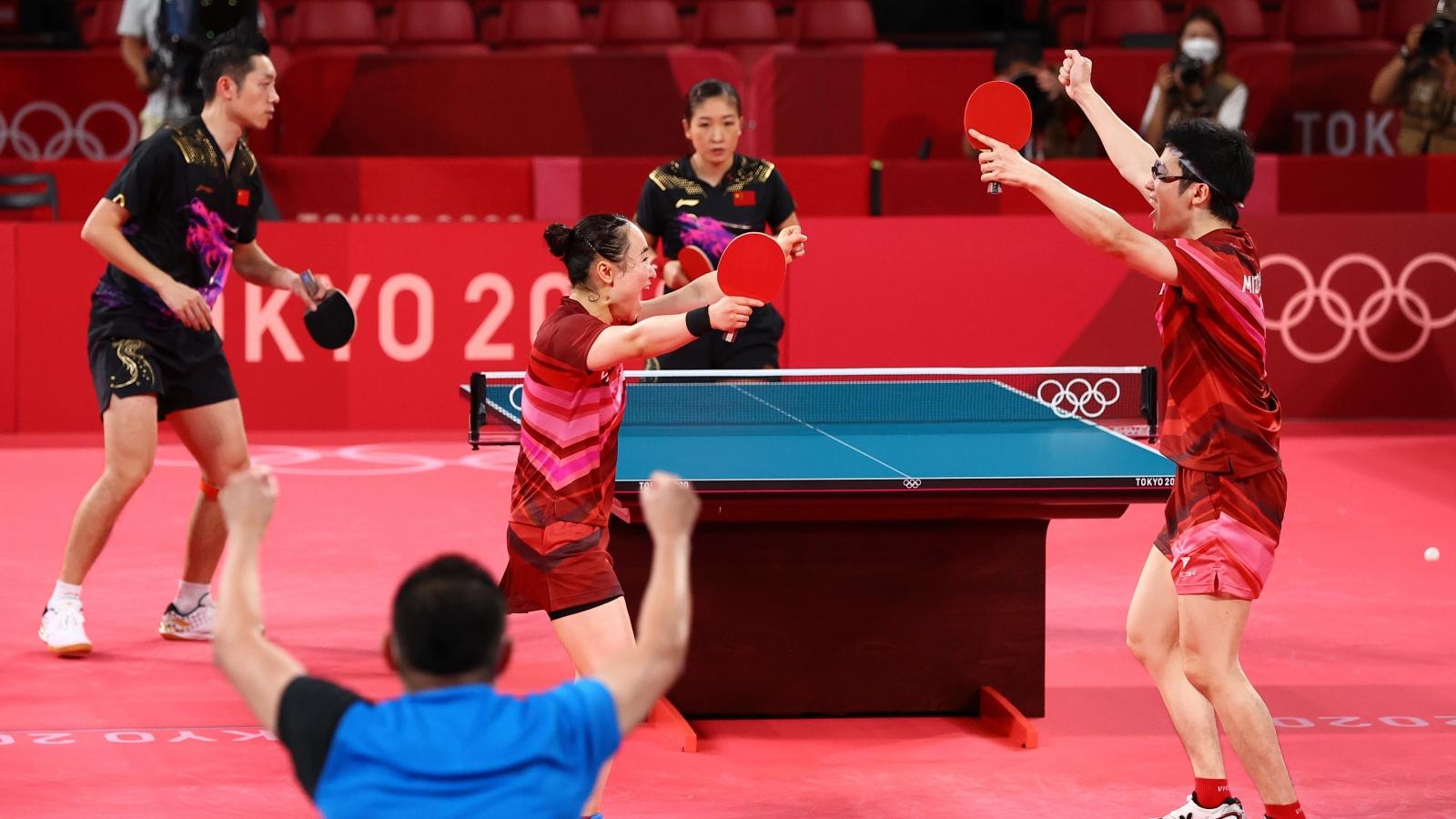 Nhật Bản phá vỡ thế độc tôn của bóng bàn Trung Quốc tại Olympic