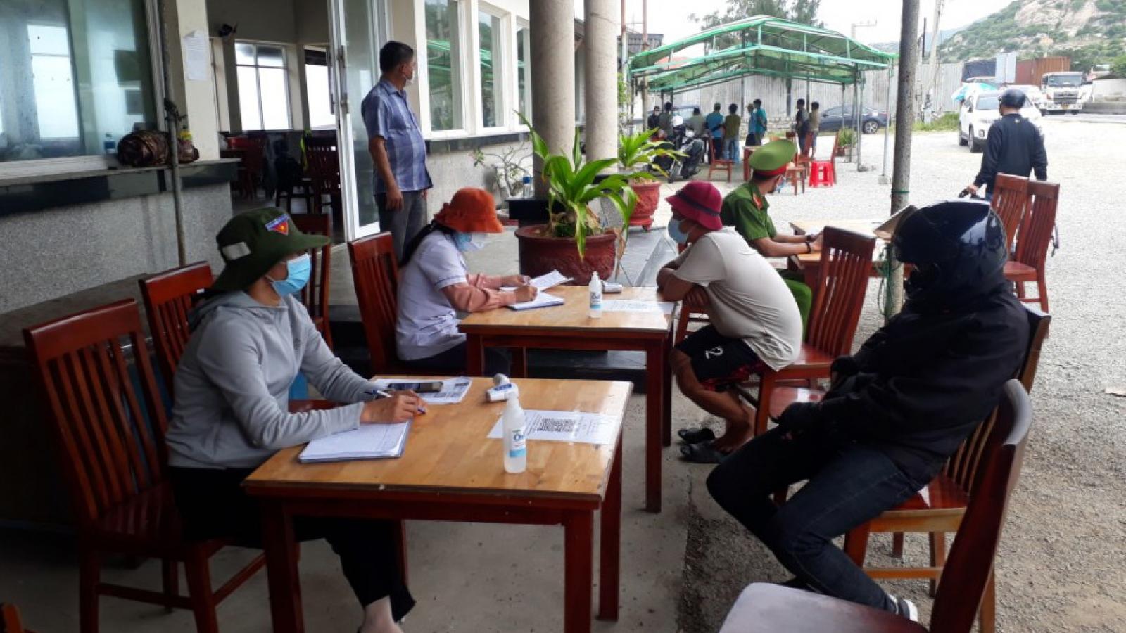 Ninh Thuận cách ly 21 ngày người về từ TP.HCM