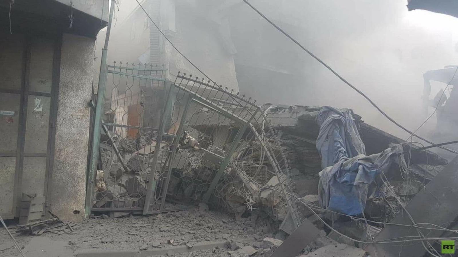 Hơn chục người thương vong trong vụ nổ ở Gaza