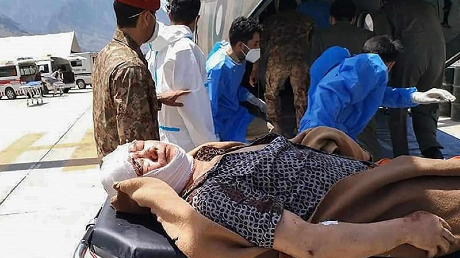 15 quan chức Trung Quốc tới Pakistan điều tra vụ nổ xe bus