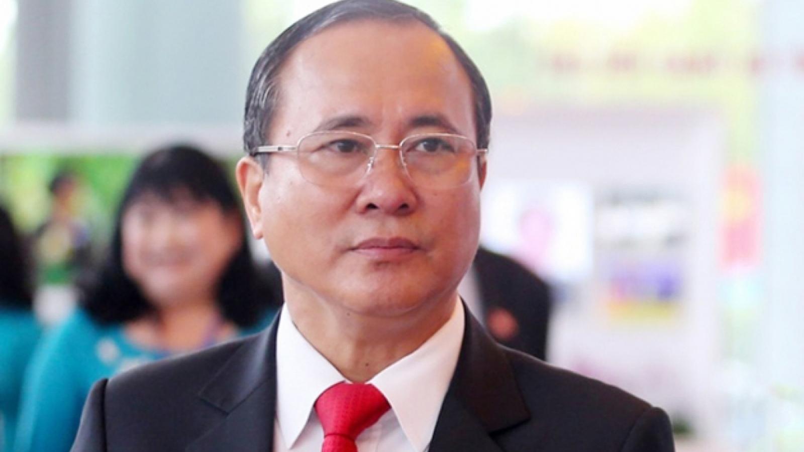 Nóng 24h: Cựu Bí thư Tỉnh uỷ Bình Dương Trần Văn Nam bị bắt