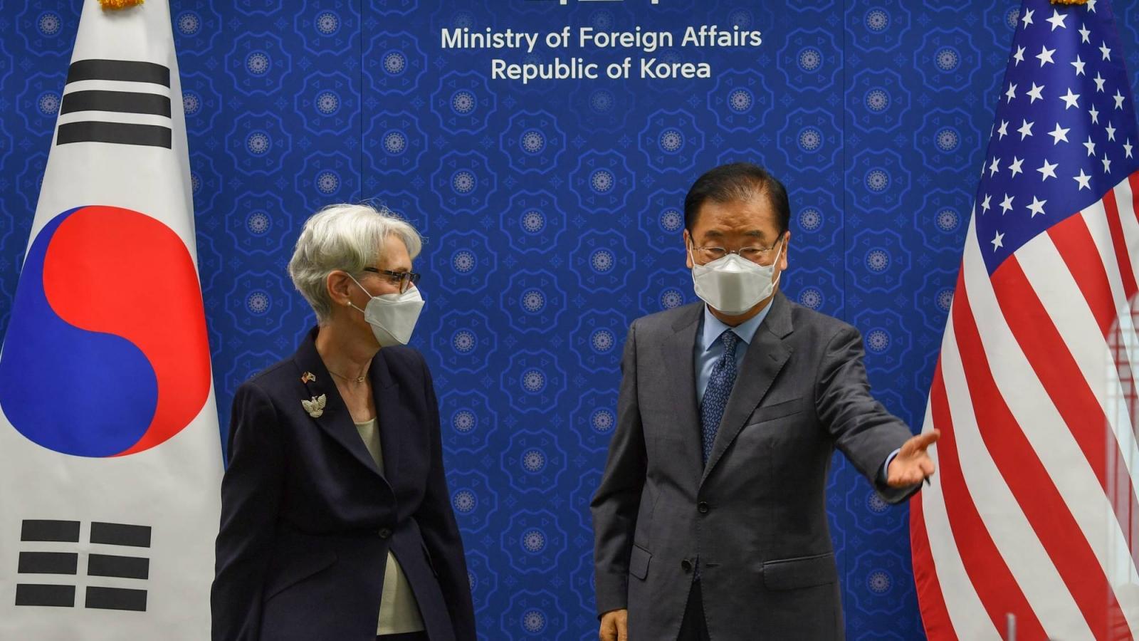 Mỹ tìm cách thúc đẩy đàm phán phi hạt nhân hóa với Triều Tiên