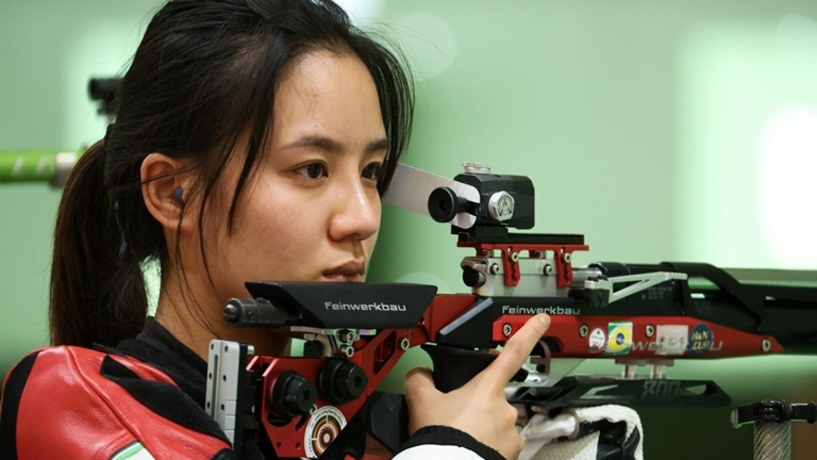 Nữ VĐV bắn súng Trung Quốc bị lăng mạ trên mạng sau khi không lọt vào chung kết