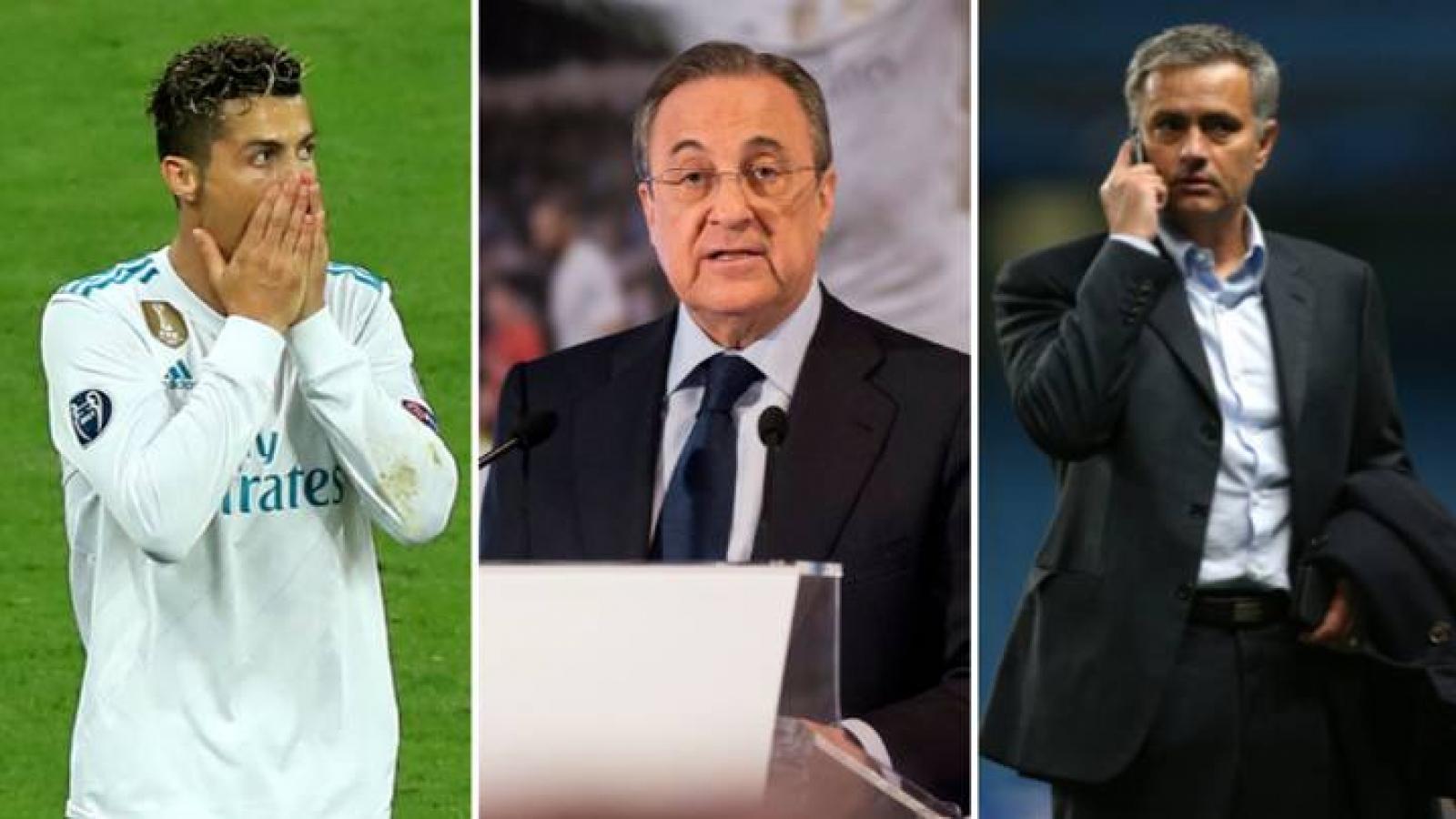 Lộ băng ghi âm Chủ tịch Real Madrid chửi bới Ronaldo và Mourinho
