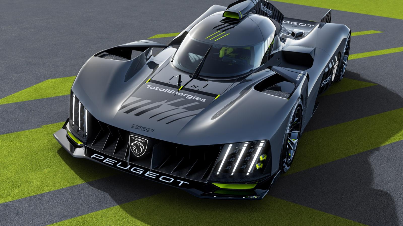 Peugeot ra mắt xe đua WEC LMH với tên gọi 9X8