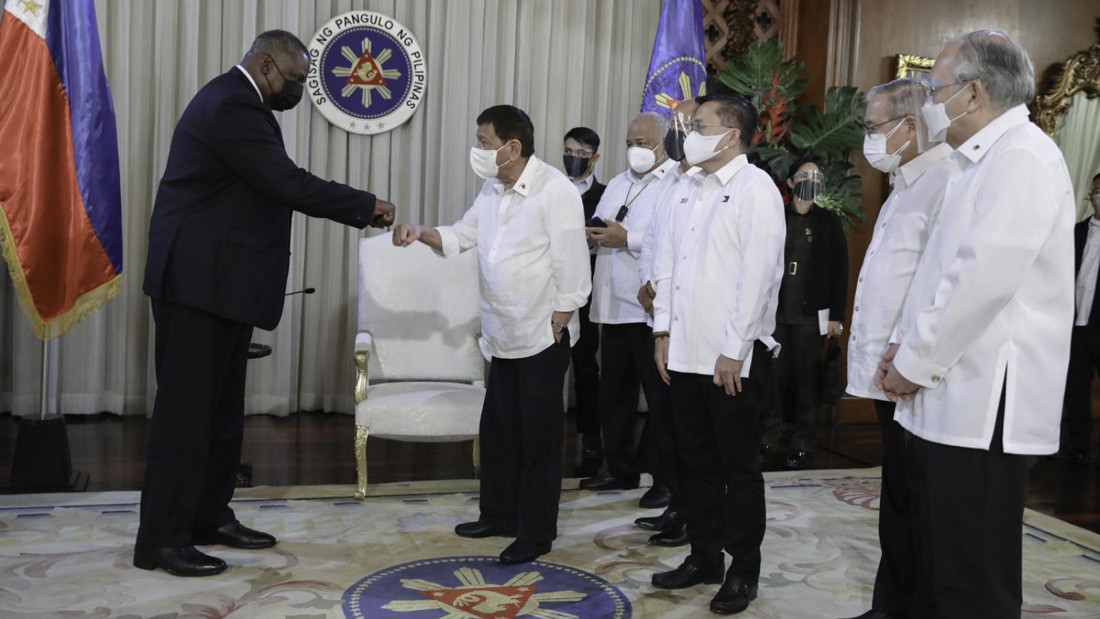 """""""Liên minh quân sự Mỹ-Philippines là 'trục chốt' ở Ấn Độ Dương-Thái Bình Dương"""""""