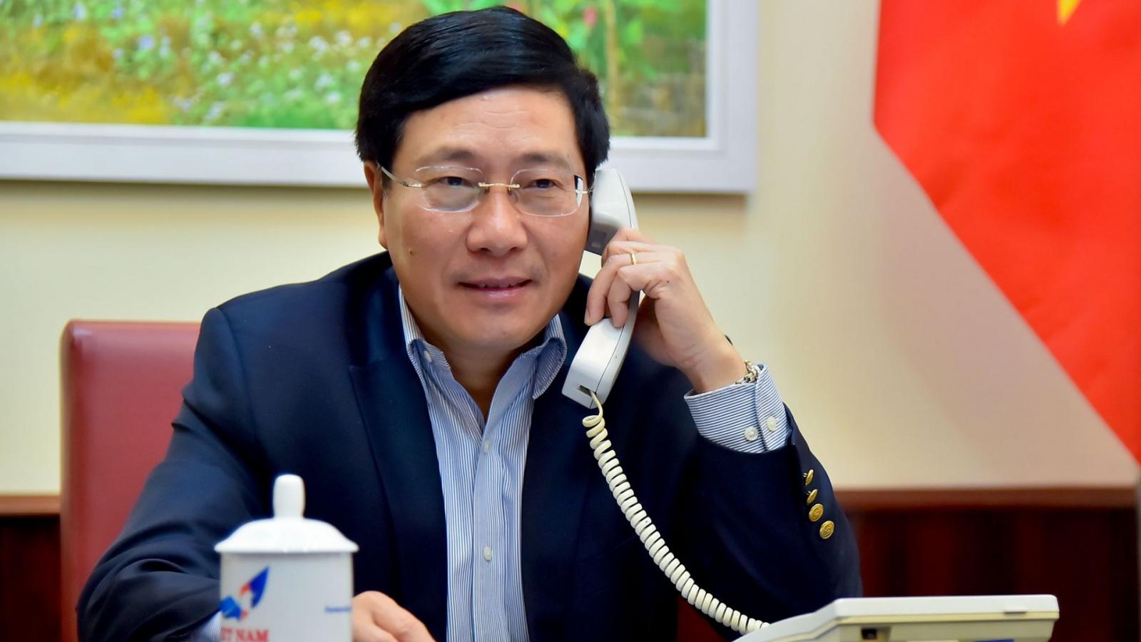 Việt Nam mong muốn sớm tiếp nhận nguồn vaccine Hoa Kỳ cam kết dành cho Việt Nam