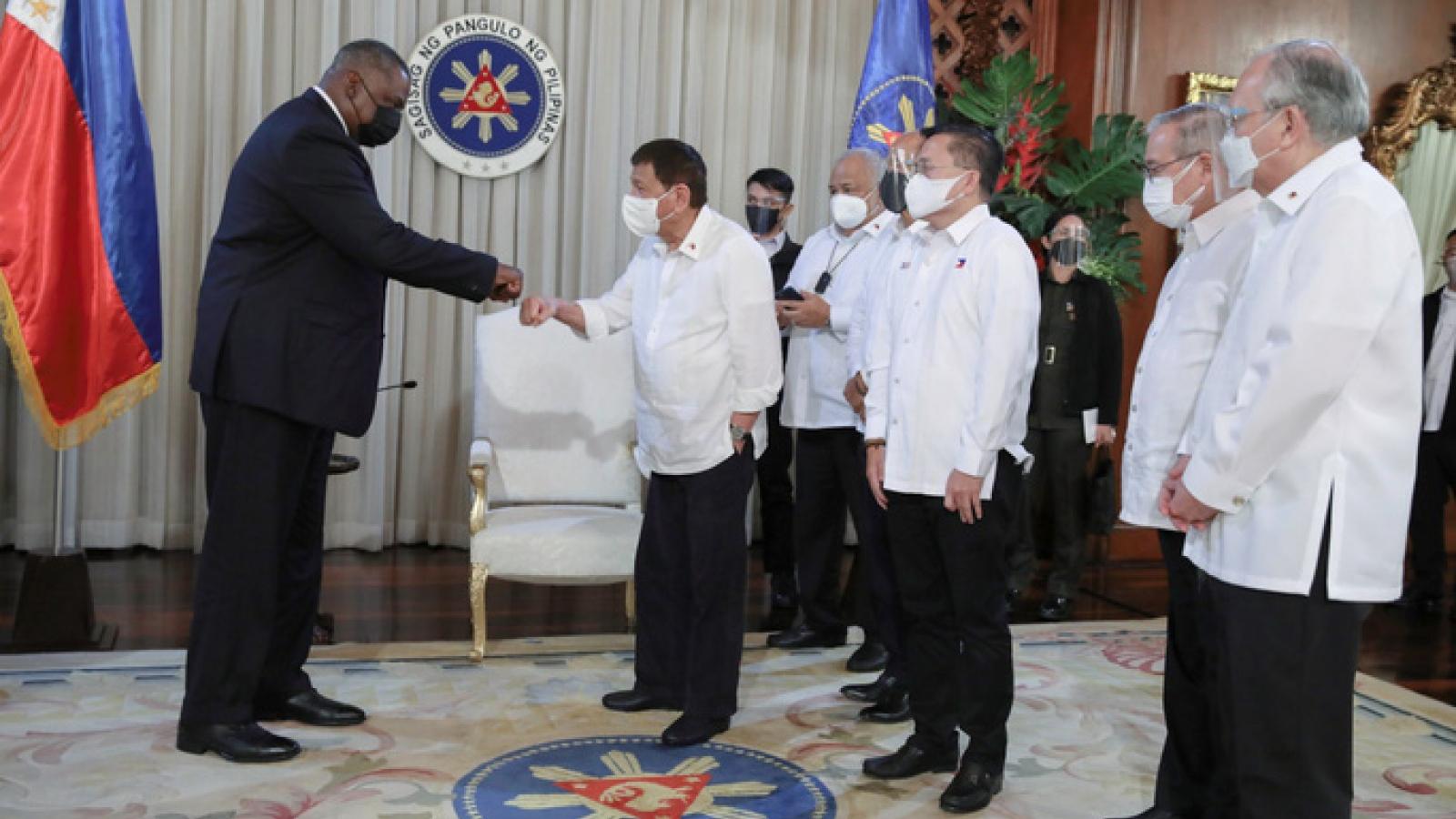 Quan hệ Mỹ - Philippines nồng ấm trở lại