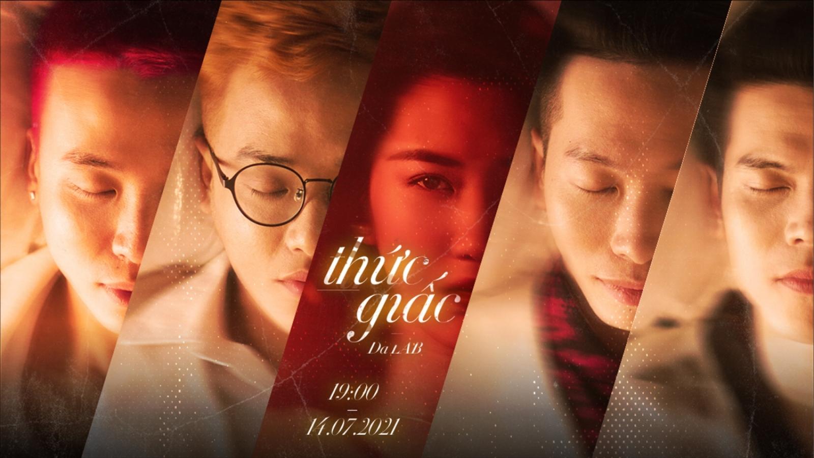 """Thúy Ngân là nàng thơ của Da LAB trong MV """"Thức giấc"""""""