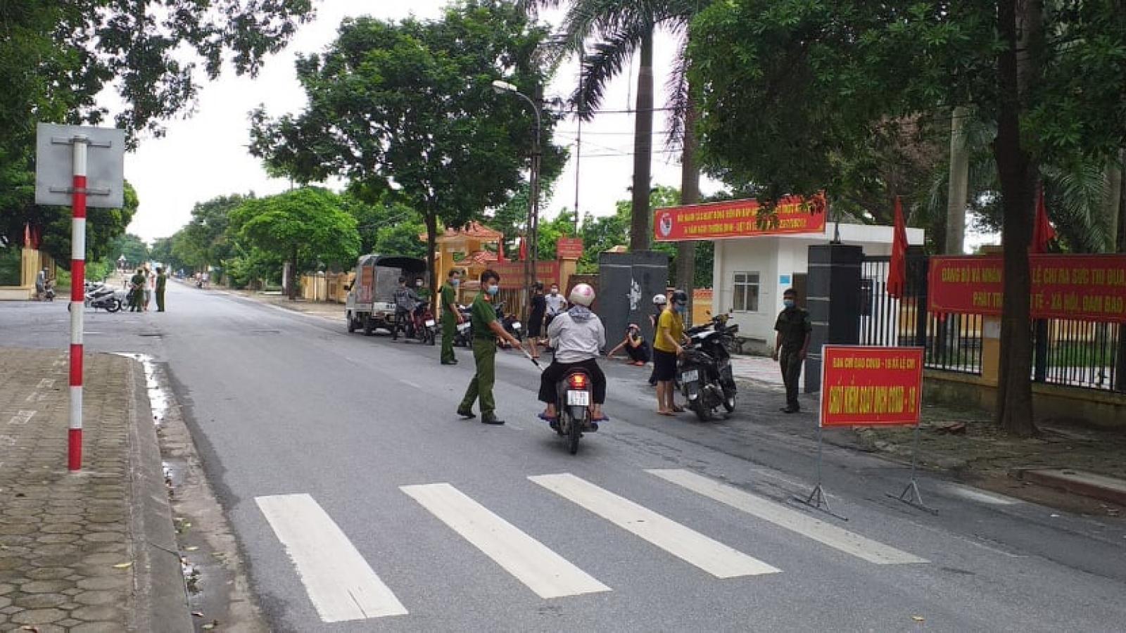 Hà Nội xử phạt 291 trường hợp và 5 cơ sở vi phạm quy định giãn cách xã hội