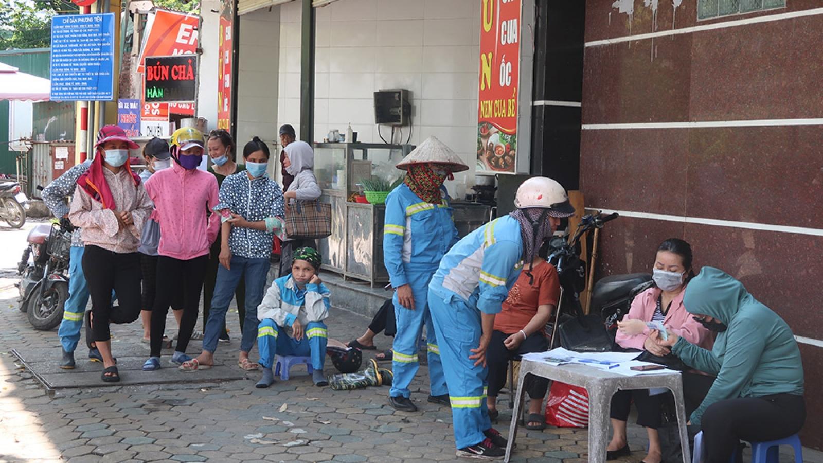 Hoàn thành chi trả nợ lương cho công nhân vệ sinh môi trường