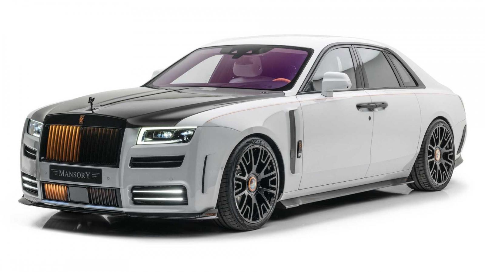 Cận cảnh gói độ Mansory cực chất của Rolls-Royce Ghost thế hệ mới
