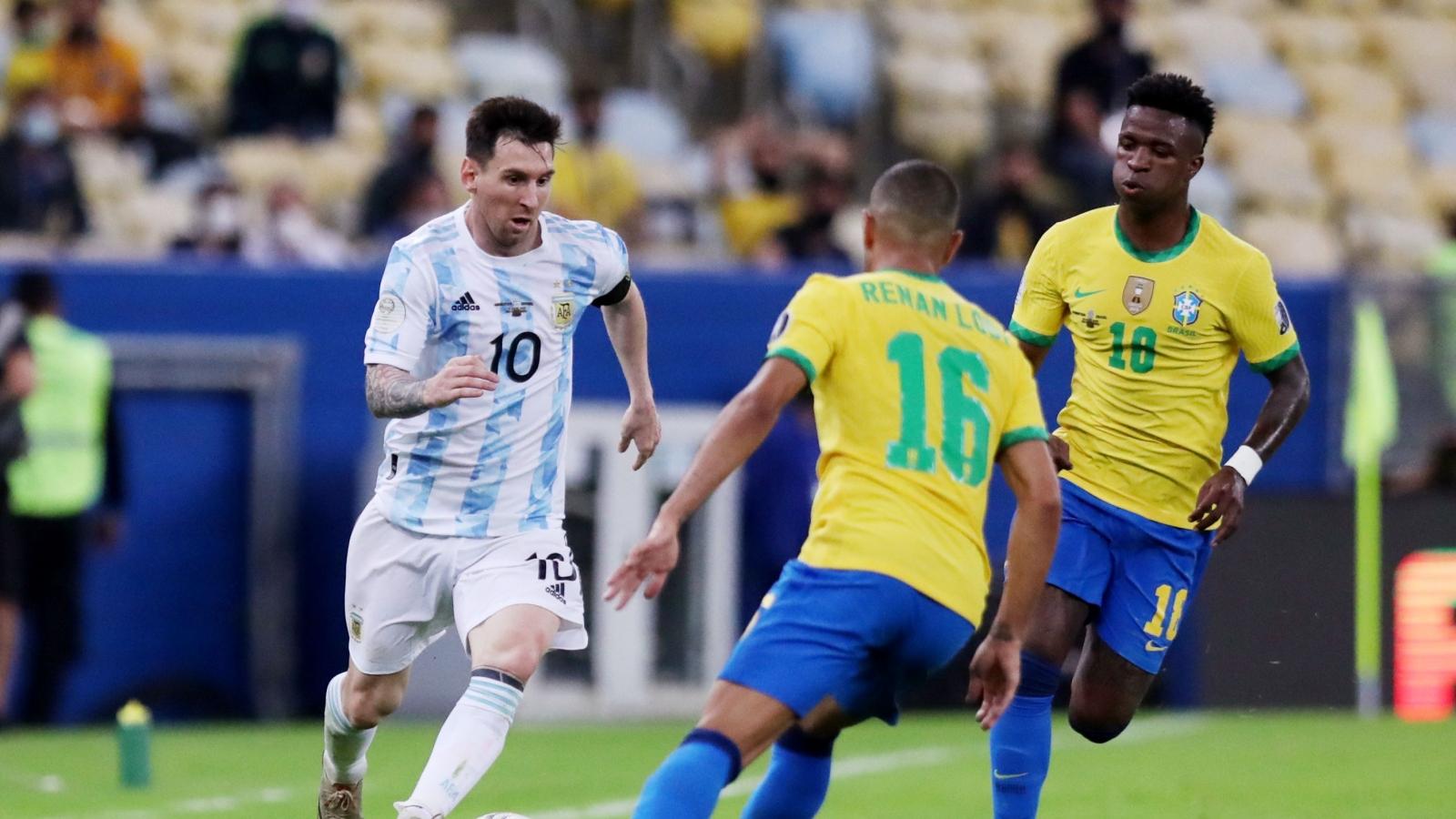 Neymar bất lực, Di Maria tỏa sáng giúp Messi đăng quang Copa America cùng ĐT Argentina
