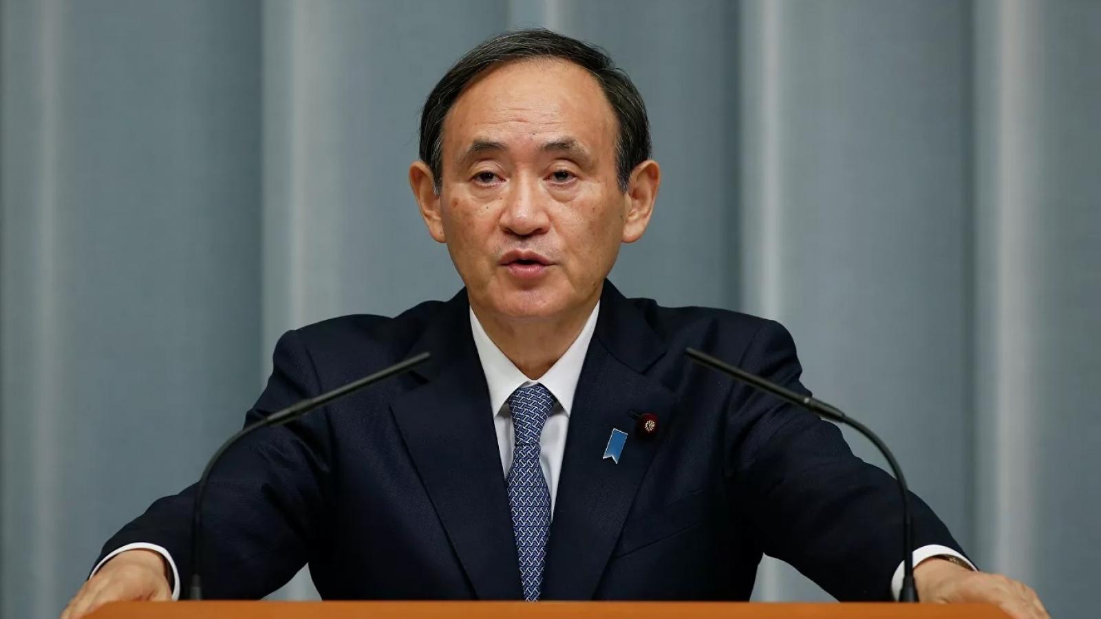 Tỷ lệ ủng hộ Thủ tướng Nhật Bản Suga thấp kỷ lục