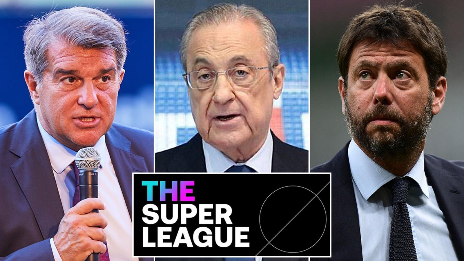Real Madrid, Barca và Juventus thắng kiện UEFA trong vụ Super League