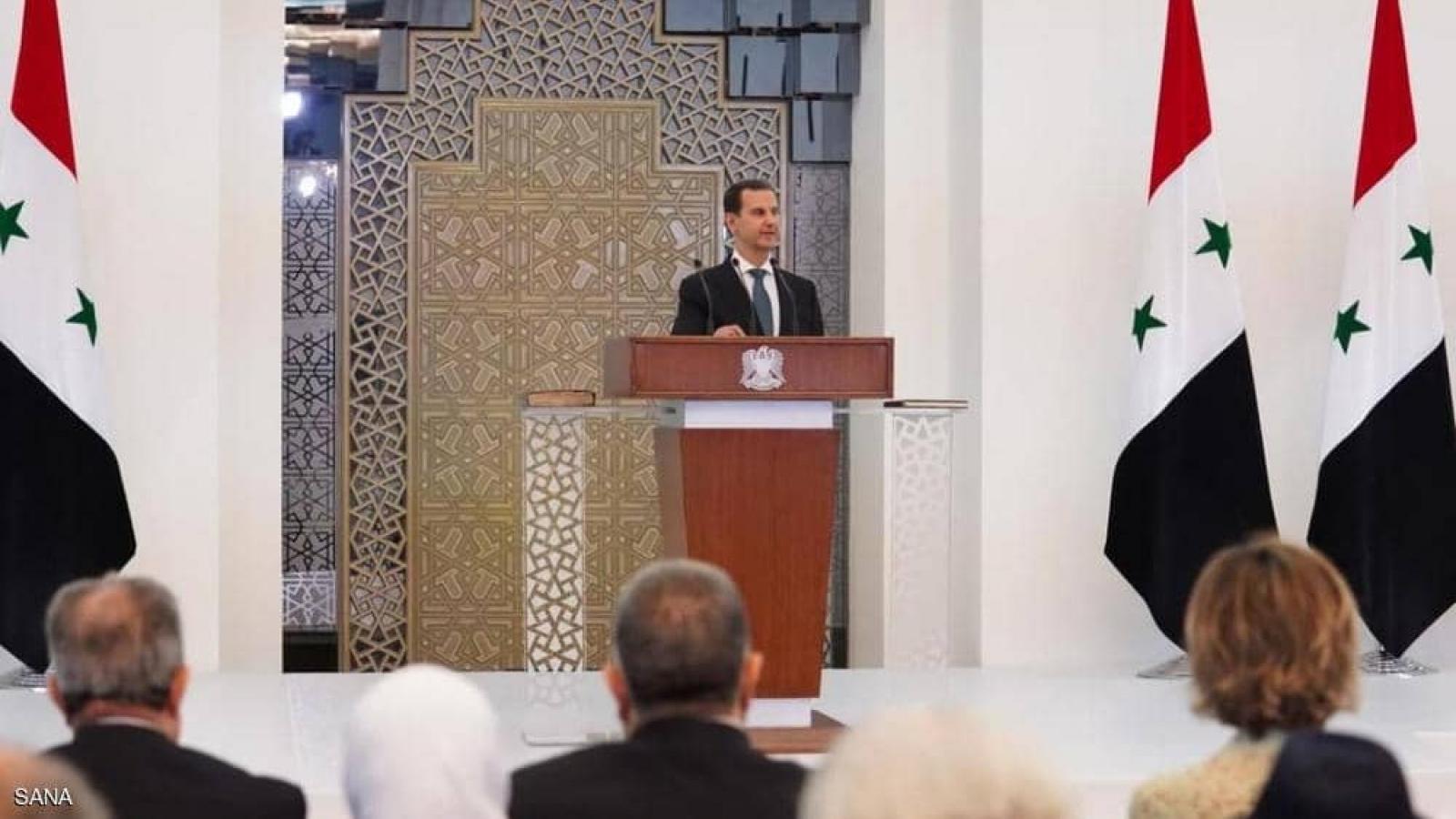 Tổng thống Syria tuyên thệ nhậm chức, mở ra bức tranh của 7 năm tới