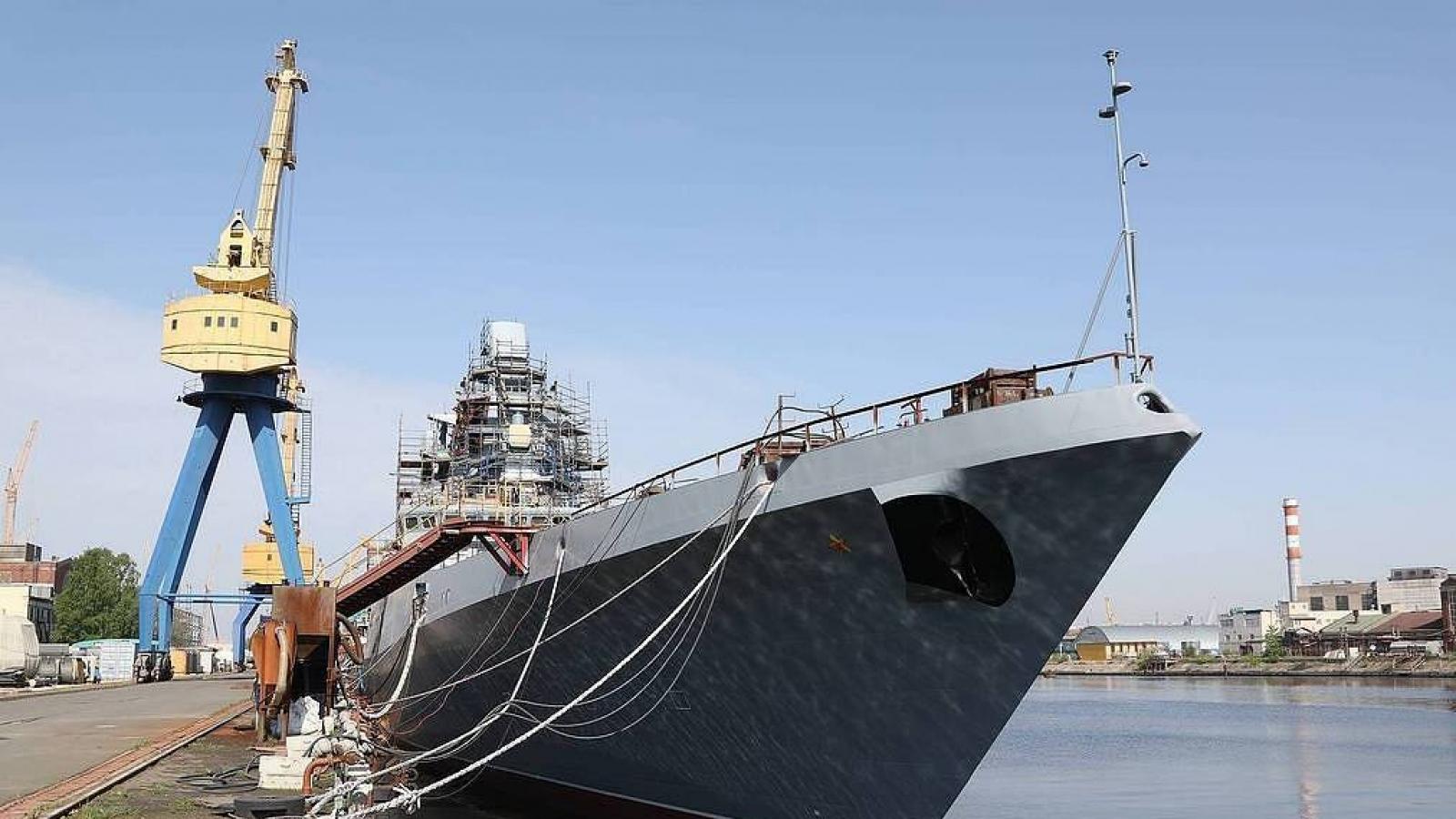 Khu trục hạm Đô đốc Golovko trở thành tàu đầu tiên mang tên lửa siêu thanh Zircon