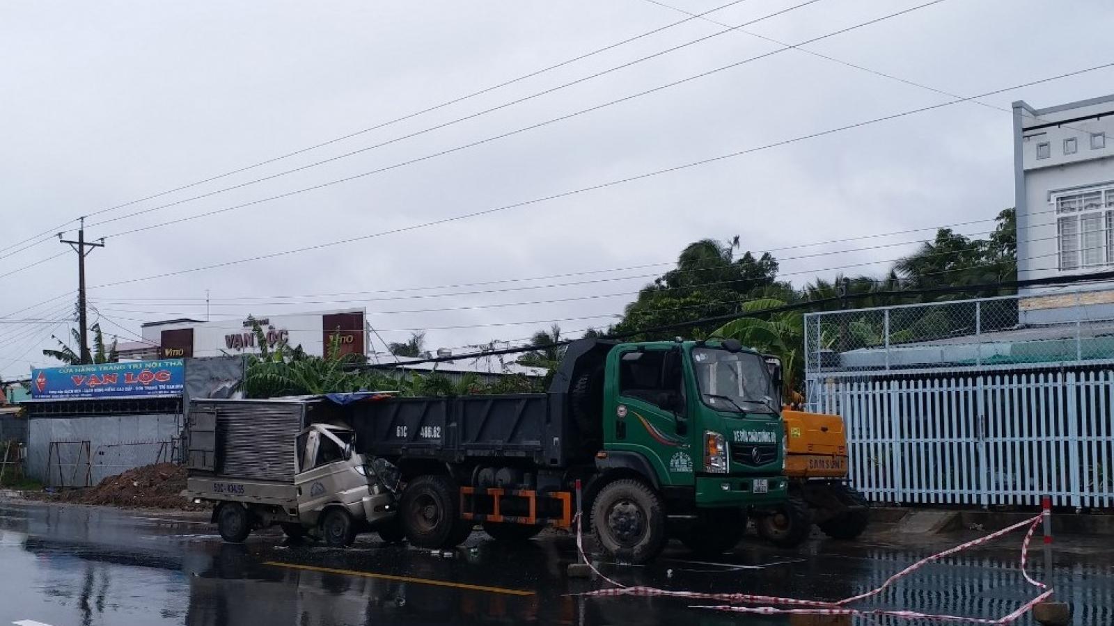 Khẩn trương làm rõ vụ tai nạn giao thông làm 2 người thương vong ởTiền Giang