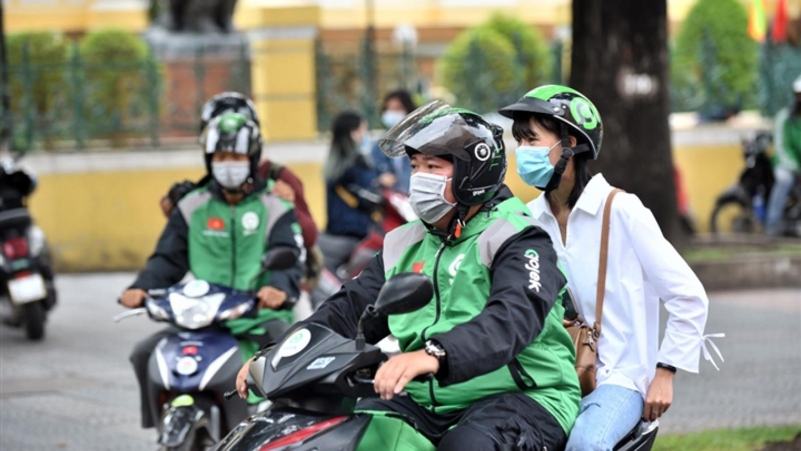 Hà Nội chính thức yêu cầu tạm dừng hoạt động của xe ôm công nghệ