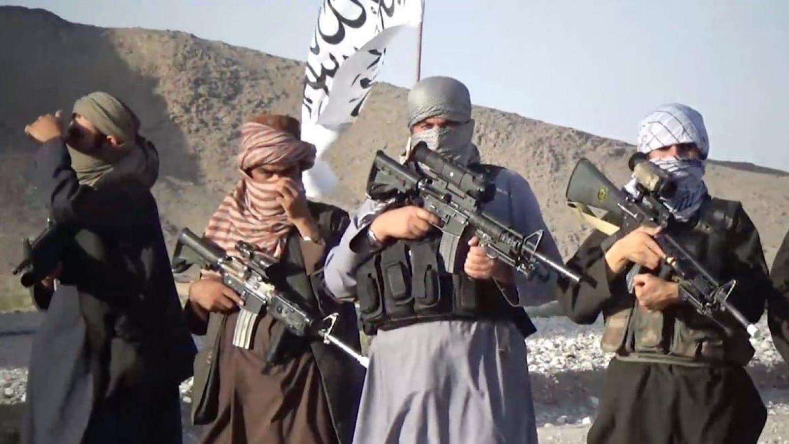 Tướng Mỹ: Không bỏ qua kịch bản Taliban tiếp quản quyền lực ở Afghanistan