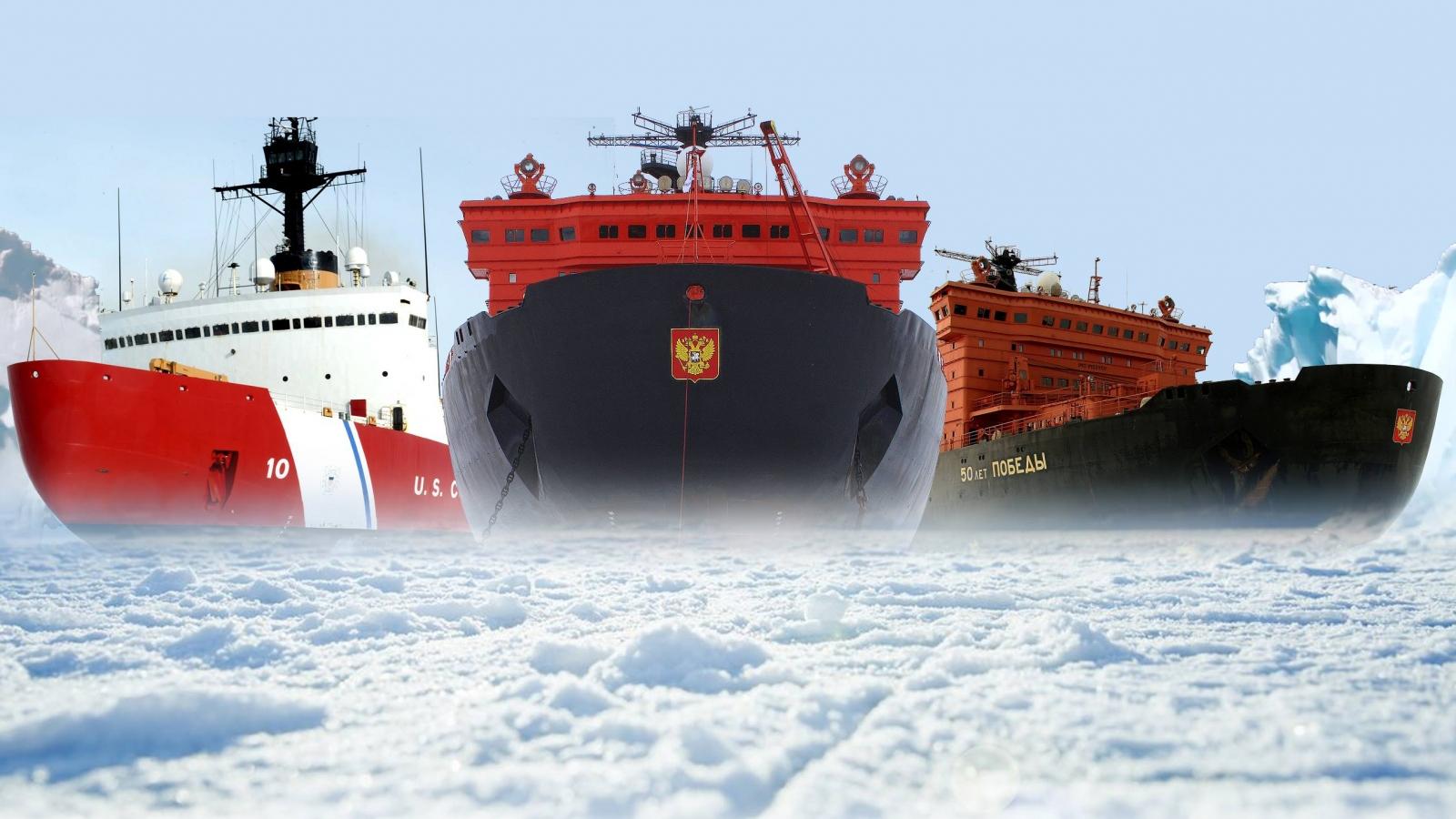 Tàu phá băng – Yếu tố định hình cuộc đua ở Bắc Cực giữa Mỹ-Nga-Trung