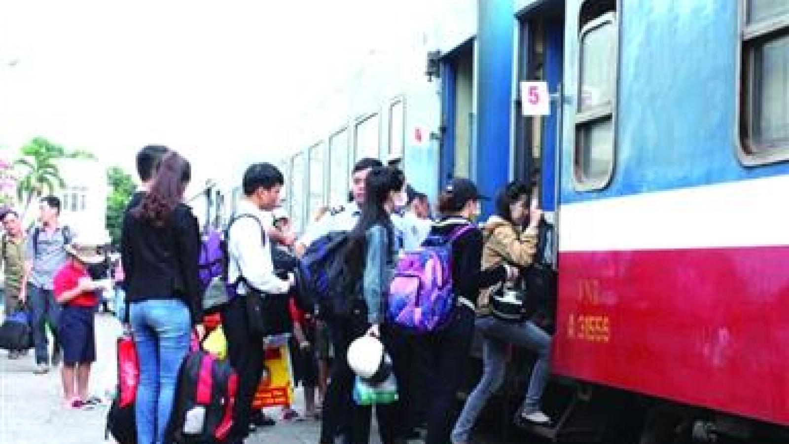Sẽ có các chuyến tàu chuyên biệt đưa người từ TP.HCM về miền Trung