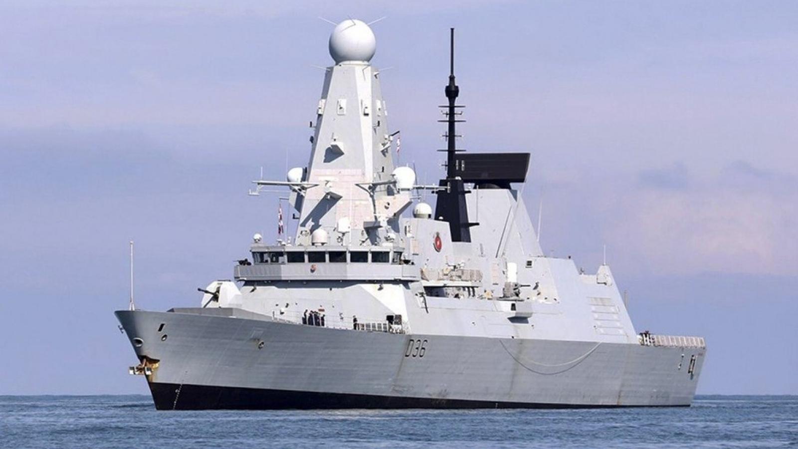"""Nga cảnh báo Anh chớ điều tàu đến gần Crimea nếu không muốn """"thủy thủ bị thương"""""""
