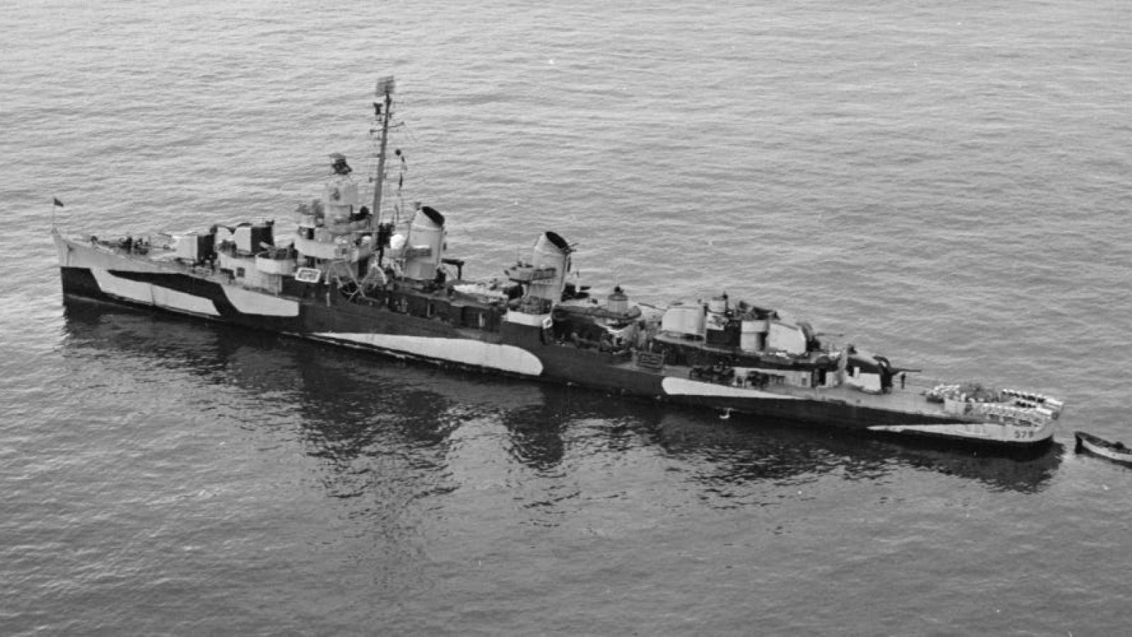 USS William D. Porter - Chiến hạm xui xẻo nhất của Hải quân Mỹ
