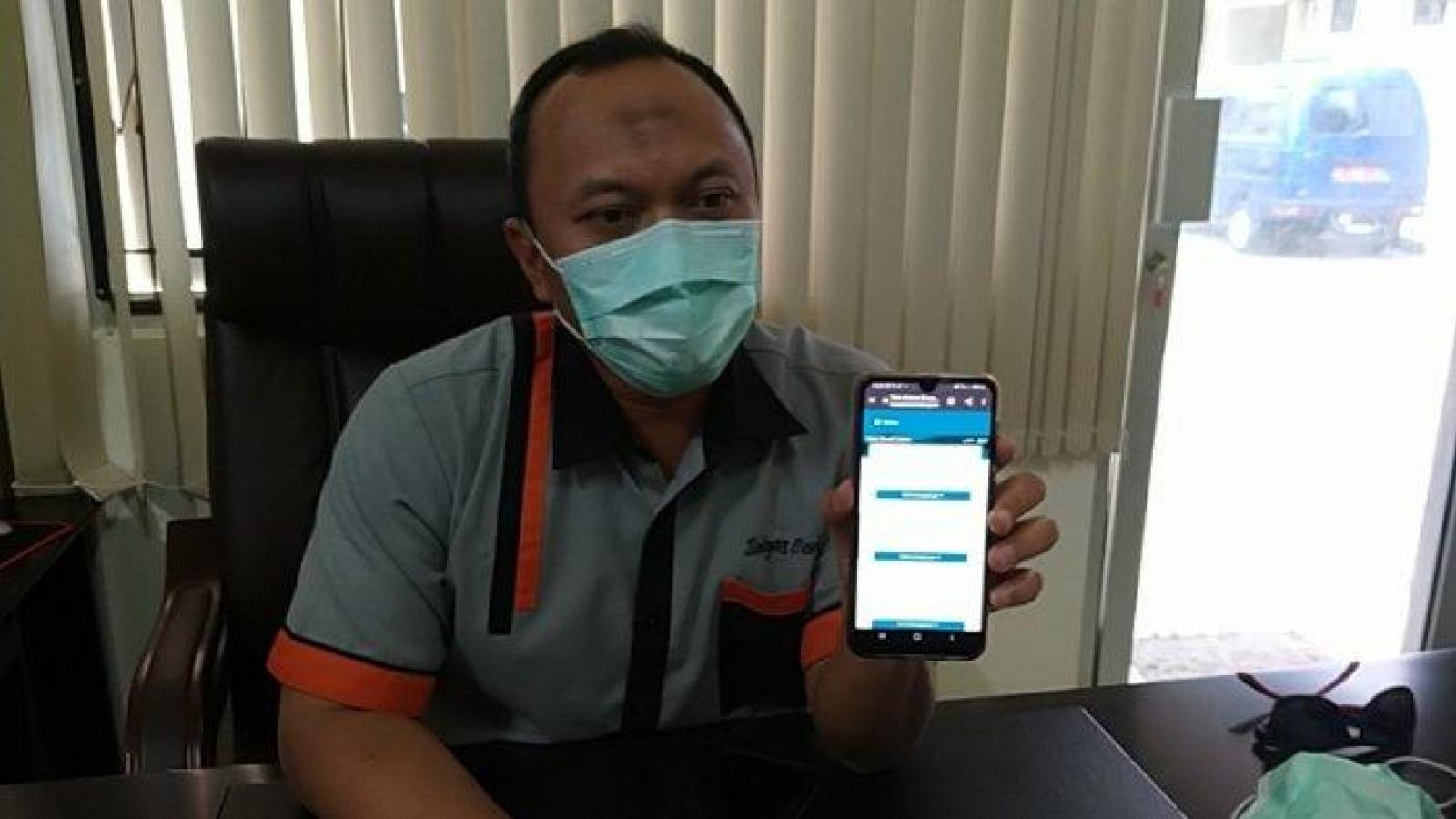 Indonesia thử nghiệm hệ thống dịch vụ y tế từ xa cho bệnh nhân Covid-19