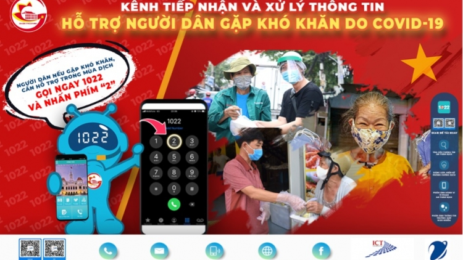 Tổng đài 1022 TP.HCM nhận 54.000 cuộc gọi/ngày