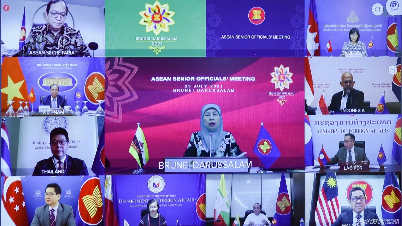 Thái Lan thúc đẩy hợp tác về mô hình kinh tế BCG tại AMM-54