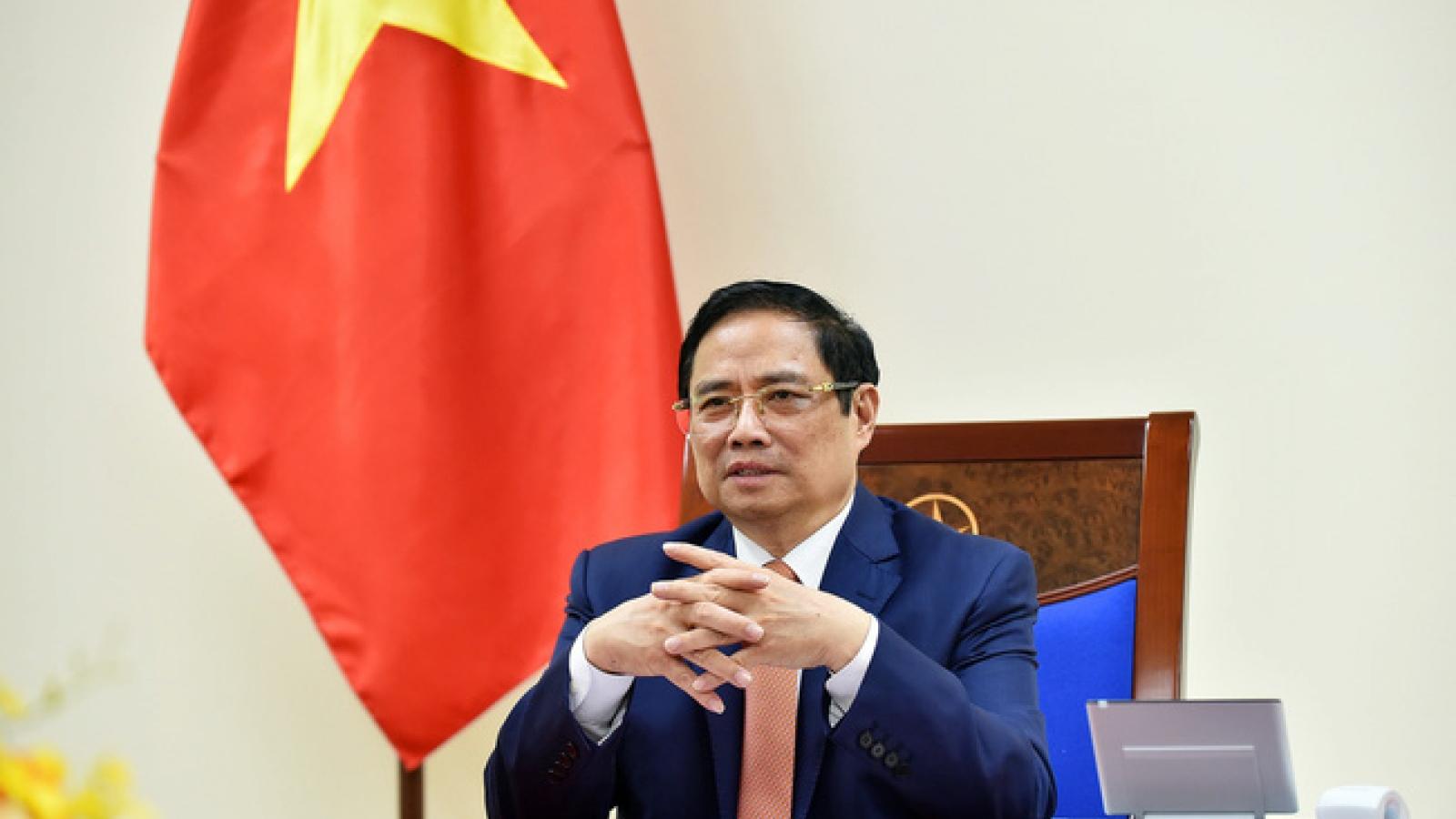 Thủ tướng Phạm Minh Chính cảm ơn Thủ tướng Campuchia hỗ trợ ứng phó dịch Covid-19