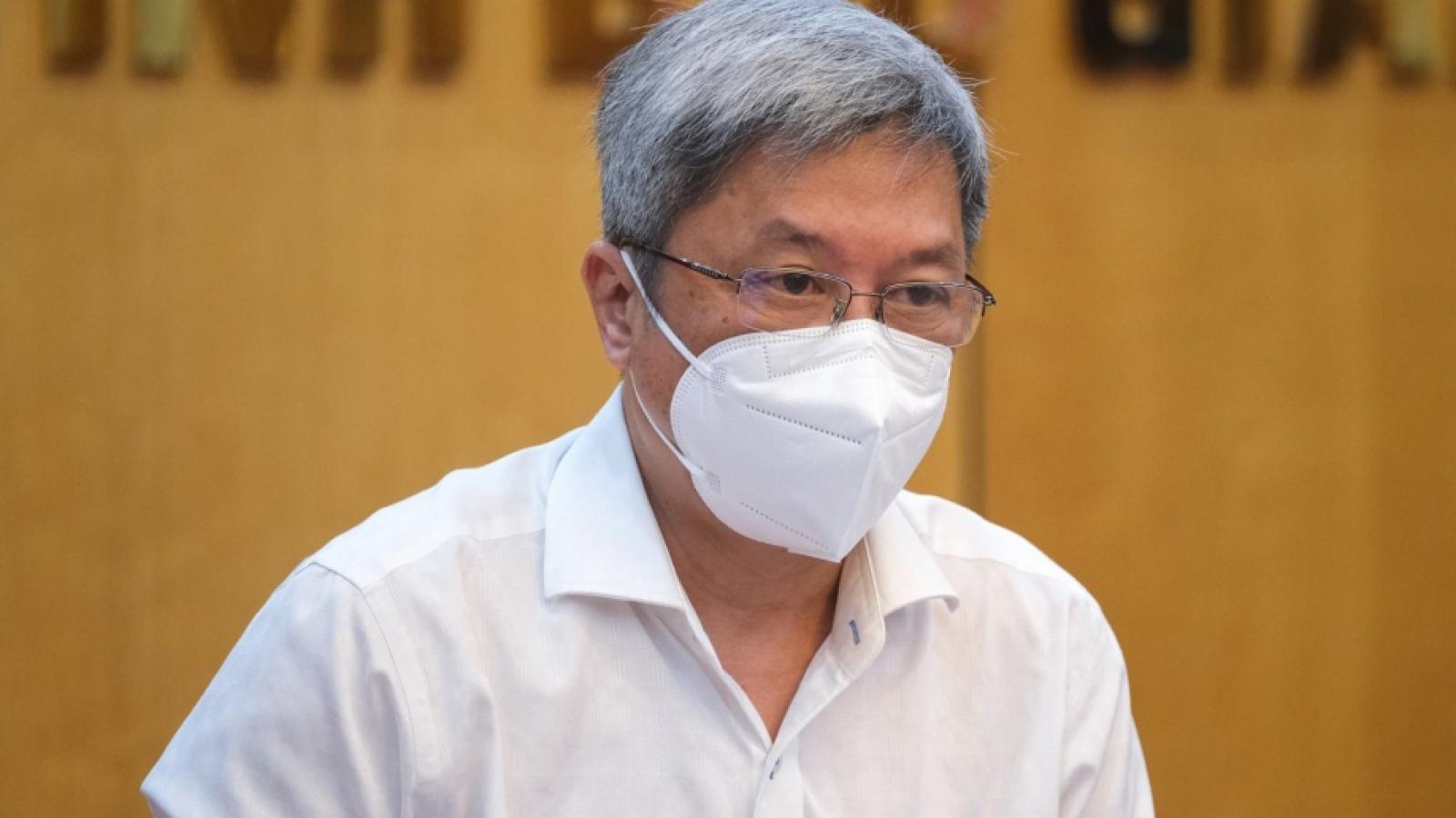 Thứ trưởng Bộ Y tế khẩn thiết kêu gọi toàn bộ hệ thống y tế công, tư cùng nhau chống dịch