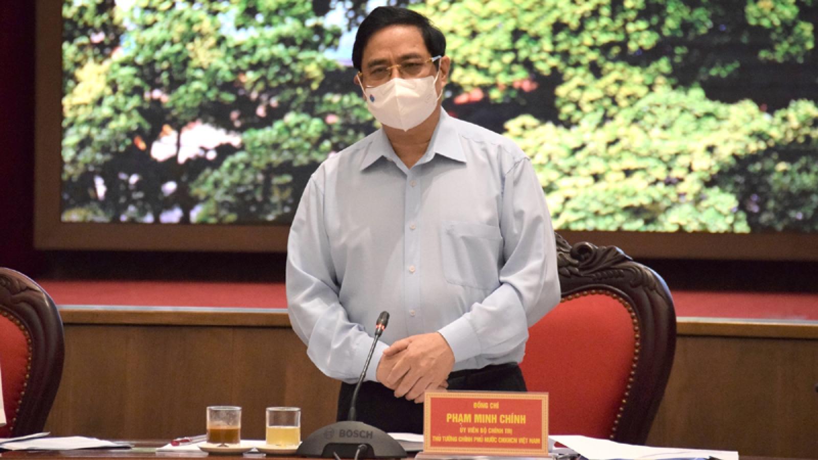 Thủ tướng: Ưu tiên số một là bảo vệ thủ đô không bị diễn biến xấu bởi dịch bệnh