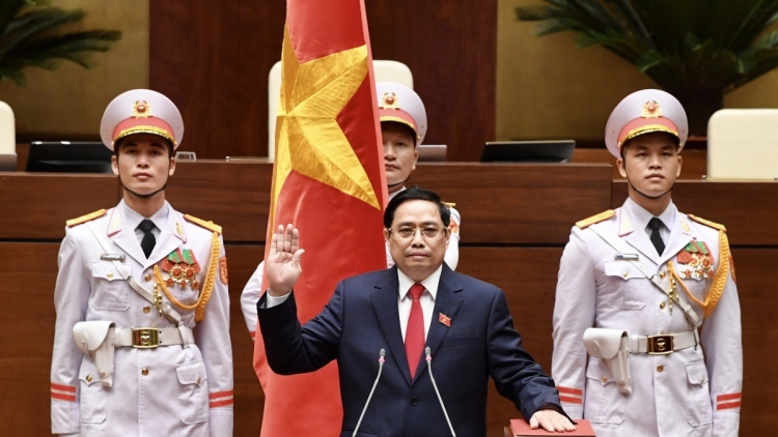 Thủ tướng CHDCND Triều Tiên gửi điện chúc mừng Thủ tướng Phạm Minh Chính