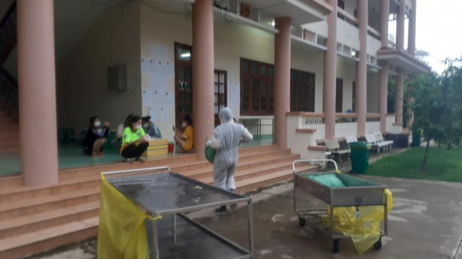 Một công trìnhxây dựng tư nhân tại Tiền Giang có 11 người dương tính với SARS-CoV-2