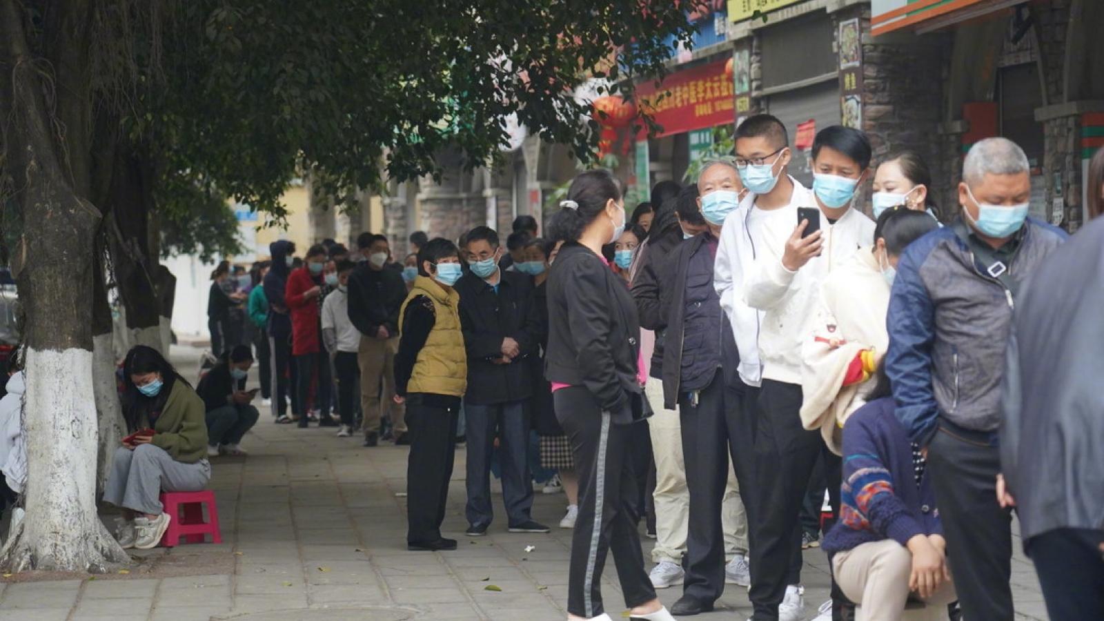 Trung Quốc phong tỏa thành phố giáp Myanmar vì dịch cộng đồng