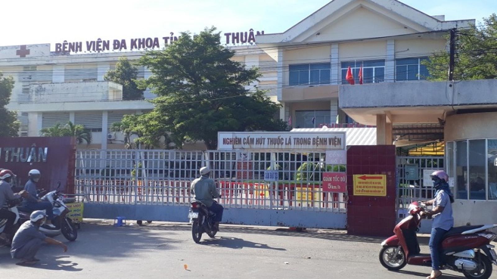 Bệnh viện Đa khoa tỉnh Bình Thuận thông tin vụ hàng trăm người chui rào ra viện