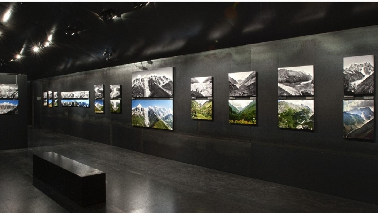 """Triển lãm """"Italian routes - Phong cảnh núi Italia"""": Cái nhìn mới về biến đổi khí hậu"""