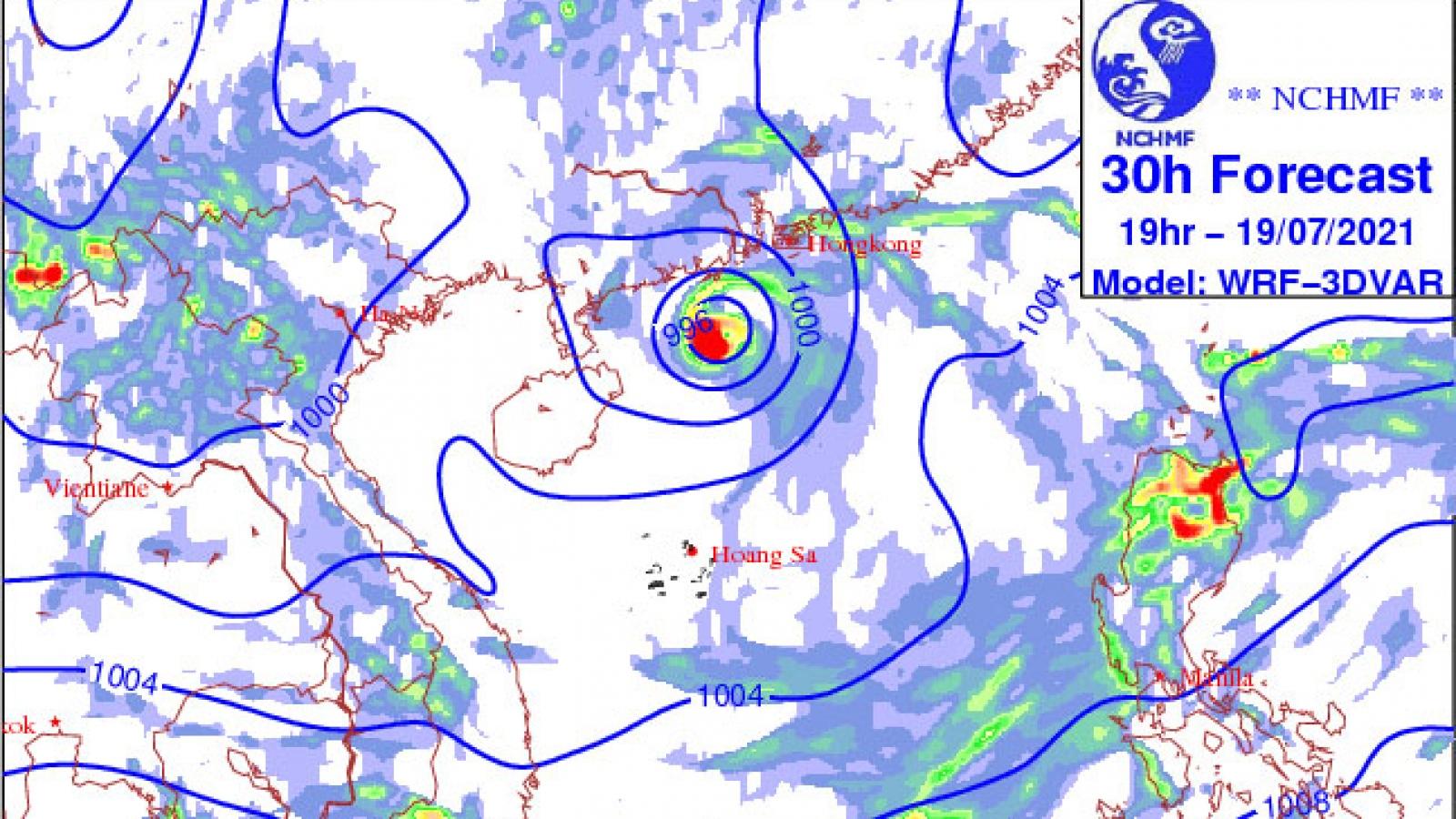 Tropical low depression brings heavy rain to northern Vietnam