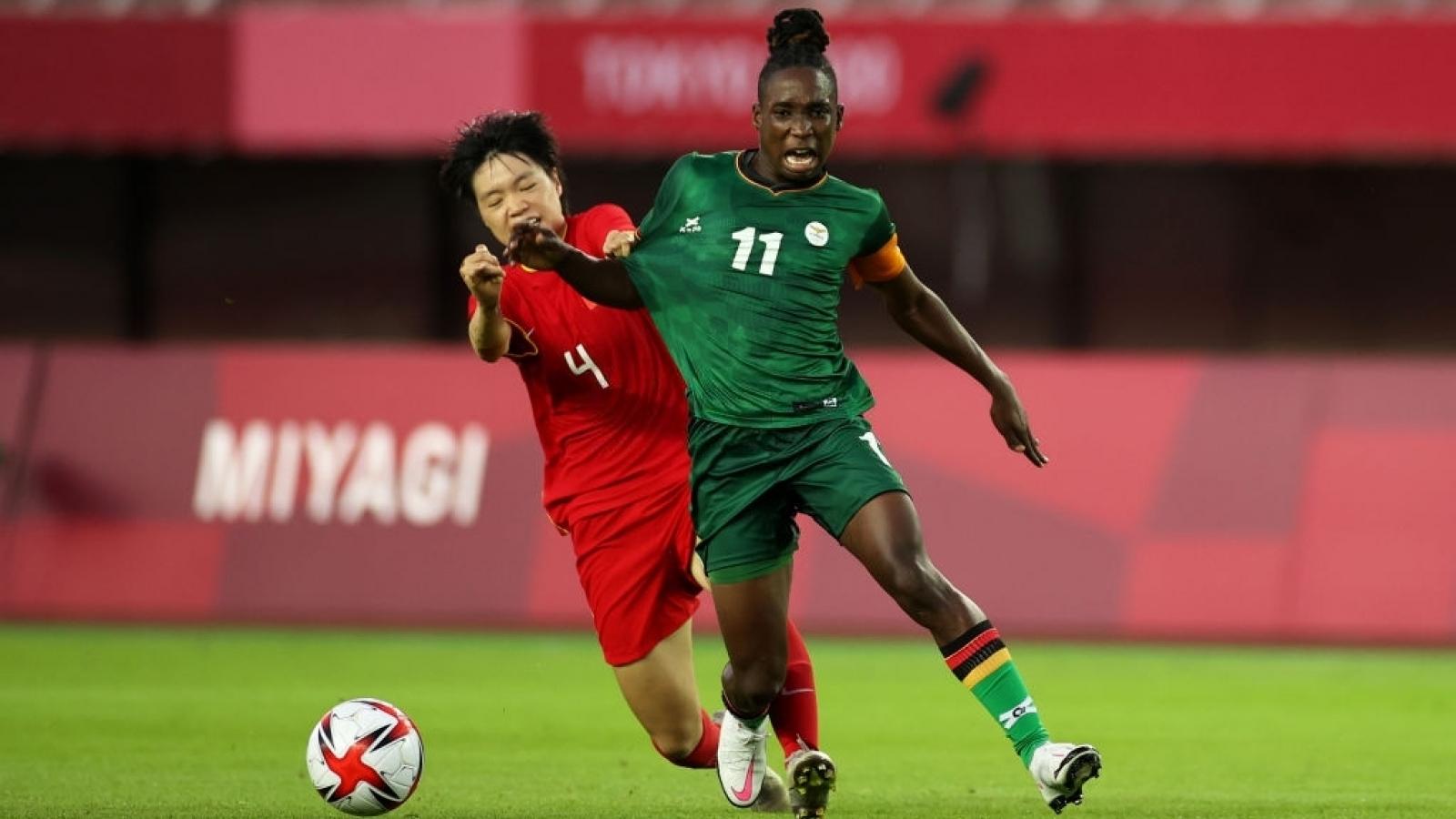 Bóng đá nữ Olympic Tokyo: Trung Quốc thoát thua, Brazil hoà kịch tính