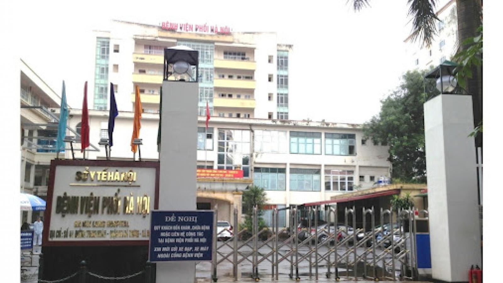 Phát hiện 14 ca dương tính SARS-CoV-2 qua test nhanh ở Bệnh viện Phổi Hà Nội