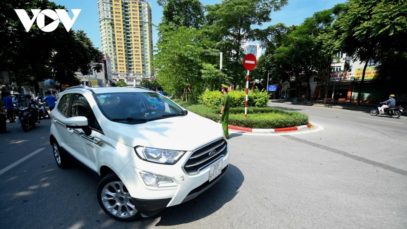 Hà Nội yêu cầu hơn3.300 phương tiện quay đầu không được vào thành phố