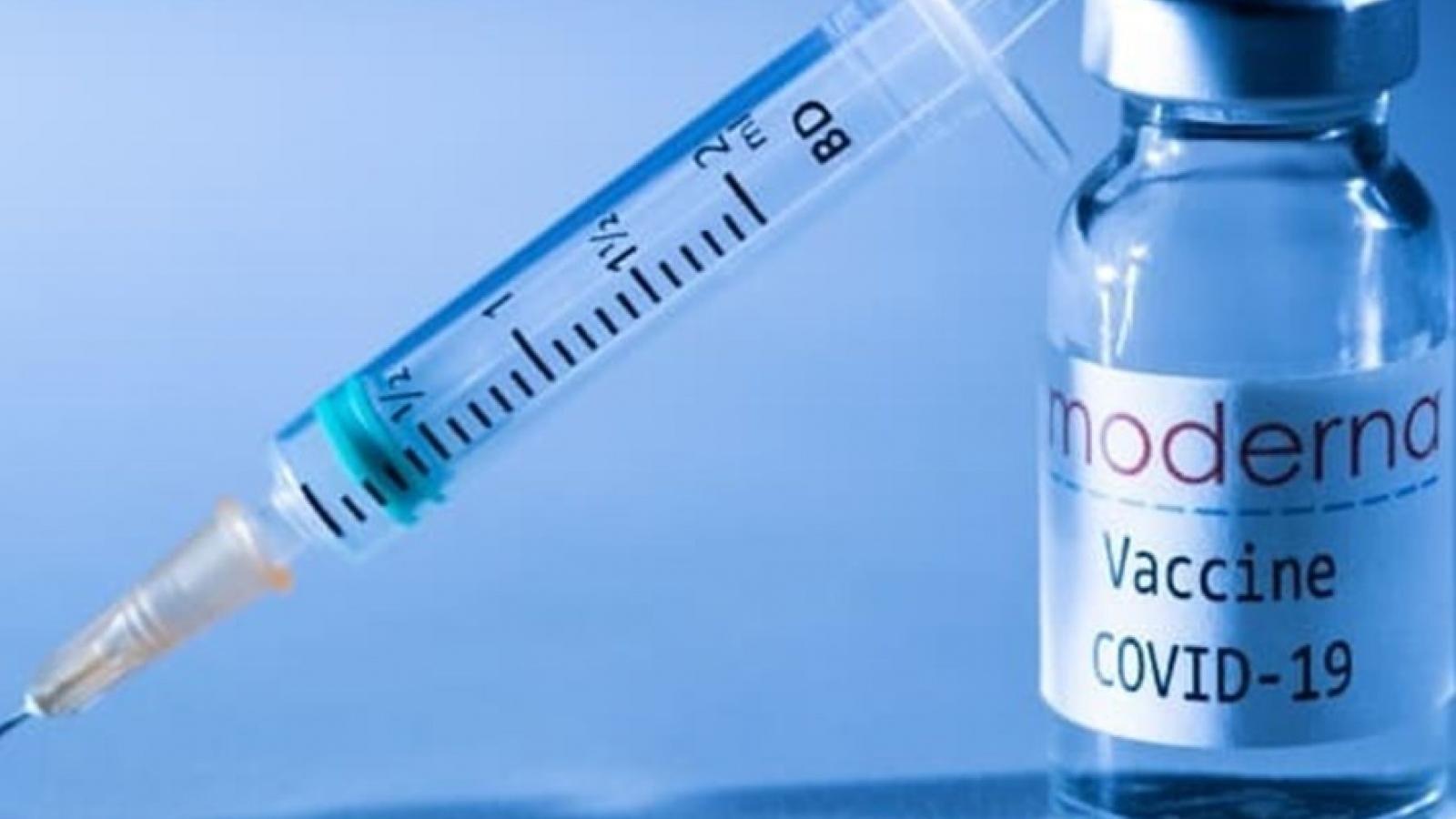 2 triệu liều vaccine Moderna do Mỹ hỗ trợ đã tới Việt Nam