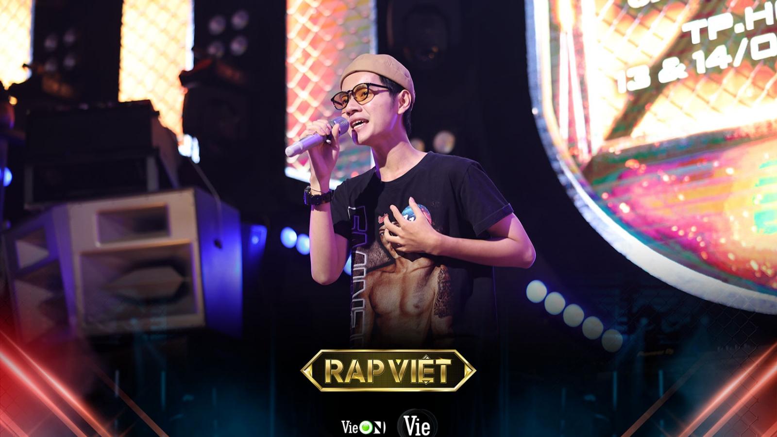 Cao Bá Hưng khiến fan phấn khích vì bản rap độc lạ tại casting Rap Việt mùa 2