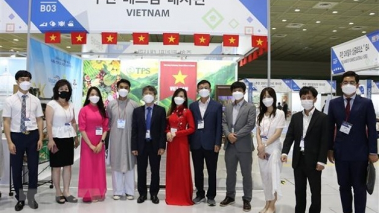 Korea Import Goods Fair 2021 offers platform for Vietnamese agricultural products