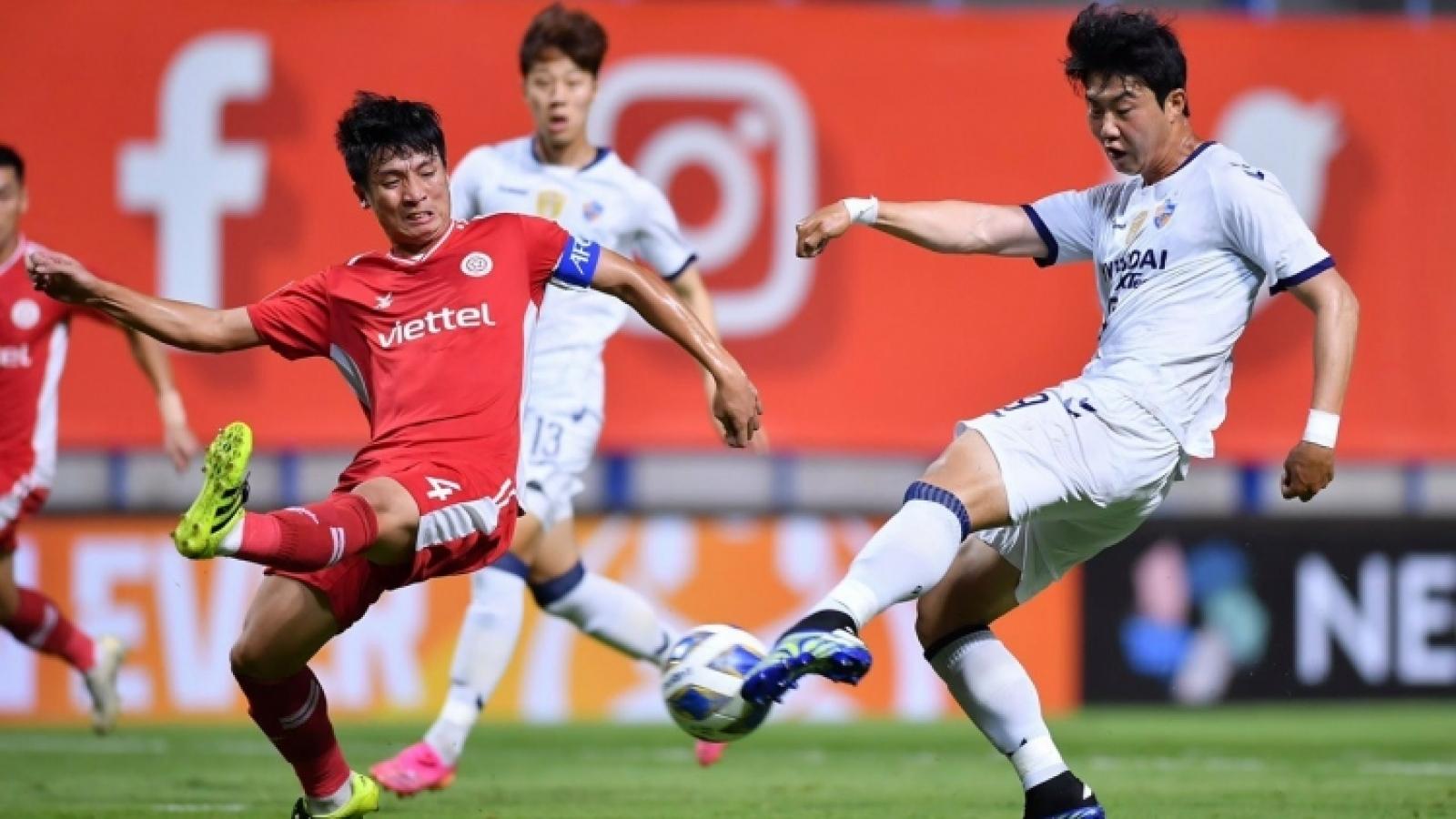Viettel FC thiếu vắng một loạt trụ cột ở trận gặp Ulsan Hyundai